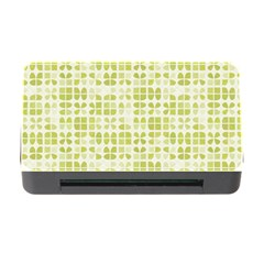 Pastel Green Memory Card Reader With Cf by FunkyPatterns