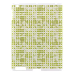 Pastel Green Apple Ipad 3/4 Hardshell Case by FunkyPatterns