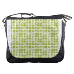 Pastel Green Messenger Bags by FunkyPatterns