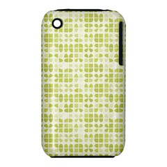 Pastel Green Apple Iphone 3g/3gs Hardshell Case (pc+silicone) by FunkyPatterns