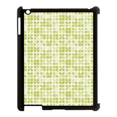 Pastel Green Apple Ipad 3/4 Case (black) by FunkyPatterns