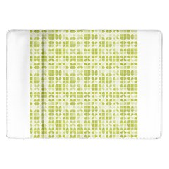 Pastel Green Samsung Galaxy Tab 10 1  P7500 Flip Case by FunkyPatterns