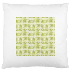 Pastel Green Standard Flano Cushion Case (two Sides) by FunkyPatterns