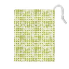 Pastel Green Drawstring Pouches (extra Large) by FunkyPatterns