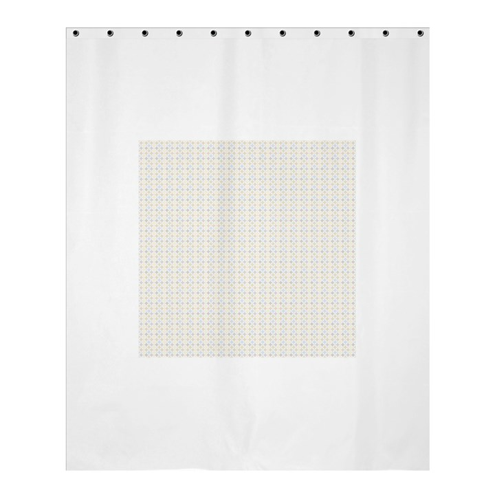 Pastel Pattern Shower Curtain 60  x 72  (Medium)