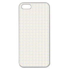Pastel Pattern Apple Seamless Iphone 5 Case (clear) by FunkyPatterns