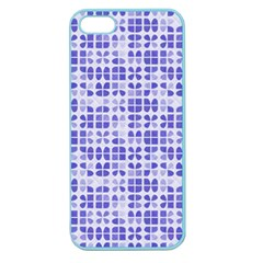 Pastel Purple Apple Seamless Iphone 5 Case (color) by FunkyPatterns