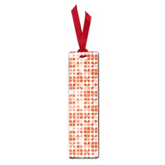 Pastel Red Small Book Marks by FunkyPatterns