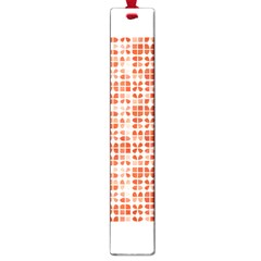 Pastel Red Large Book Marks by FunkyPatterns