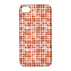 Pastel Red Apple Iphone 4/4s Hardshell Case With Stand
