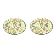 Pastel Sketch Cufflinks (oval) by FunkyPatterns