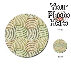 Pastel Sketch Multi Purpose Cards (round)
