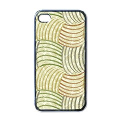 Pastel Sketch Apple Iphone 4 Case (black) by FunkyPatterns