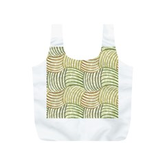 Pastel Sketch Full Print Recycle Bags (s)  by FunkyPatterns