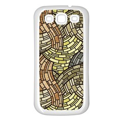 Whimsical Samsung Galaxy S3 Back Case (white) by FunkyPatterns