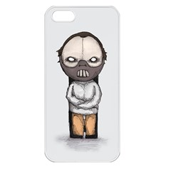 Dr  Lecter Apple Iphone 5 Seamless Case (white)