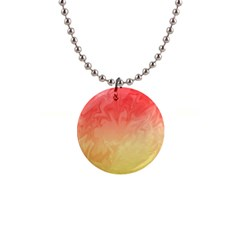Ombre Orange Yellow Button Necklaces by BrightVibesDesign