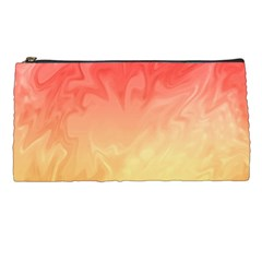Ombre Orange Yellow Pencil Cases by BrightVibesDesign