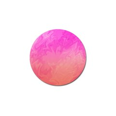 Ombre Pink Orange Golf Ball Marker (10 Pack) by BrightVibesDesign