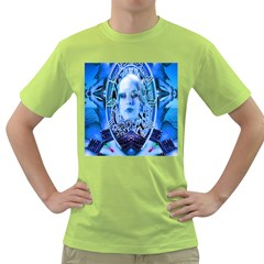 Clockwork Blue Green T Shirt by icarusismartdesigns
