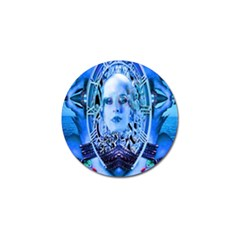 Clockwork Blue Golf Ball Marker (4 Pack)