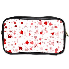 Bubble Hearts Toiletries Bags 2 Side by TRENDYcouture