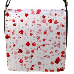 Bubble Hearts Flap Messenger Bag (s) by TRENDYcouture