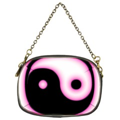 Yin Yang Glow Chain Purses (two Sides)  by TRENDYcouture