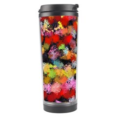 Colorful Brush Strokes                                             Travel Tumbler by LalyLauraFLM