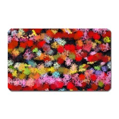 Colorful Brush Strokes                                             			magnet (rectangular) by LalyLauraFLM