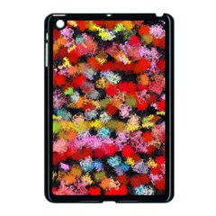Colorful Brush Strokes                                             			apple Ipad Mini Case (black) by LalyLauraFLM