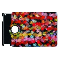 Colorful Brush Strokes                                             			apple Ipad 3/4 Flip 360 Case by LalyLauraFLM