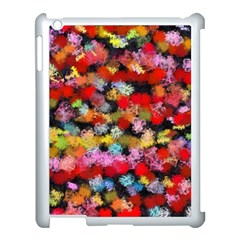 Colorful Brush Strokes                                             			apple Ipad 3/4 Case (white) by LalyLauraFLM