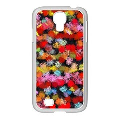 Colorful Brush Strokes                                             			samsung Galaxy S4 I9500/ I9505 Case (white) by LalyLauraFLM