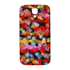 Colorful Brush Strokes                                             			samsung Galaxy S4 I9500/i9505 Hardshell Back Case by LalyLauraFLM