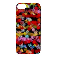 Colorful Brush Strokes                                             			apple Iphone 5s Hardshell Case by LalyLauraFLM