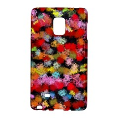 Colorful Brush Strokes                                             			samsung Galaxy Note Edge Hardshell Case by LalyLauraFLM