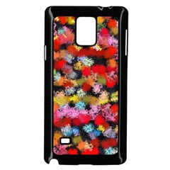 Colorful Brush Strokes                                             			samsung Galaxy Note 4 Case (black) by LalyLauraFLM