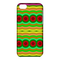Circles And Waves                                              			apple Iphone 5c Hardshell Case by LalyLauraFLM
