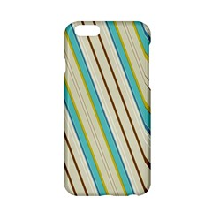 Bent Stripes                                               			apple Iphone 6/6s Hardshell Case by LalyLauraFLM