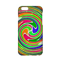 Colorful Whirlpool Watercolors                                                			apple Iphone 6/6s Hardshell Case by LalyLauraFLM