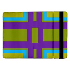 Angles And Shapes                                                 			samsung Galaxy Tab Pro 12 2  Flip Case by LalyLauraFLM