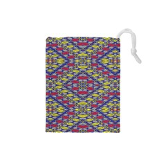 Colorful Duck Drawstring Pouches (small)  by MRTACPANS