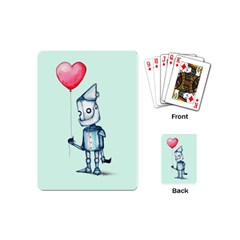 Tin Man Playing Cards (mini)  by lvbart