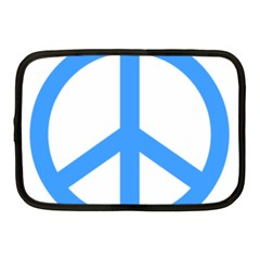 Blue Peace Netbook Case (medium)  by TRENDYcouture