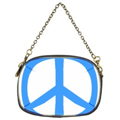 Blue Peace Chain Purses (two Sides)  by TRENDYcouture