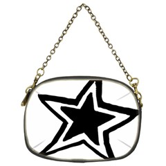 Double Star Chain Purses (two Sides)  by TRENDYcouture