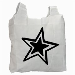 Double Star Recycle Bag (two Side)  by TRENDYcouture