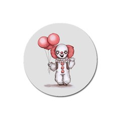 They All Float Magnet 3  (round) by lvbart
