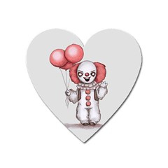 They All Float Heart Magnet by lvbart